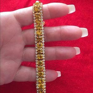 Jewelry - Yellow Zircon Tennis Bracelet